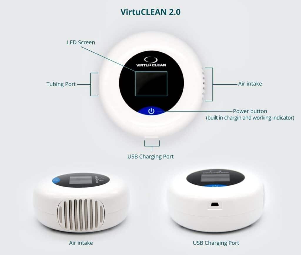 Virtuclean 2.0 Sanitizer Detail Lab