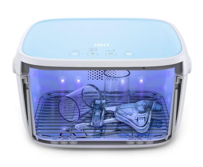 Liviliti Paptizer UV Sanitizer cutaway to show contents